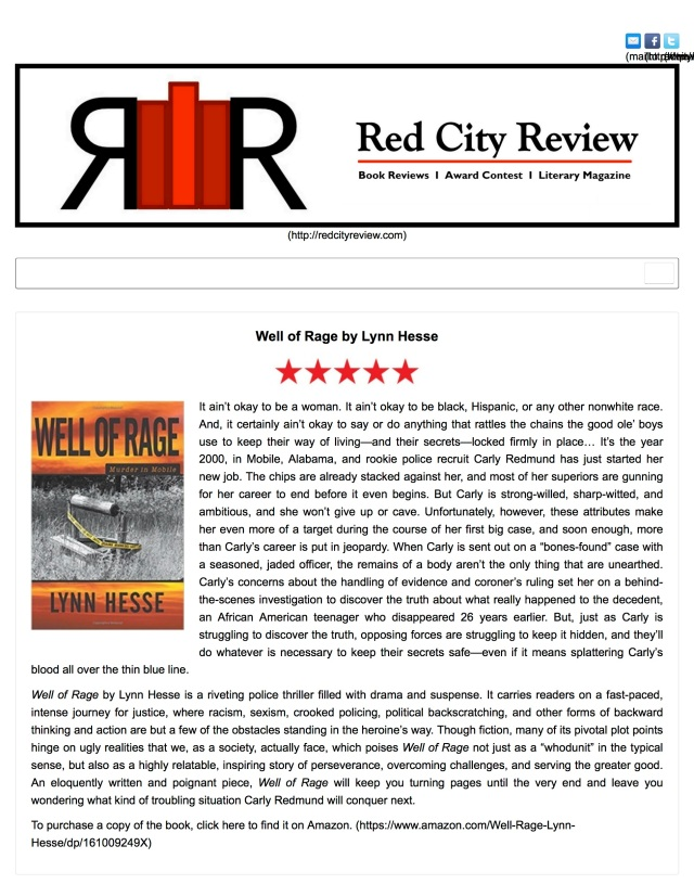 Red City Review | Well of Rage by Lynn Hesse